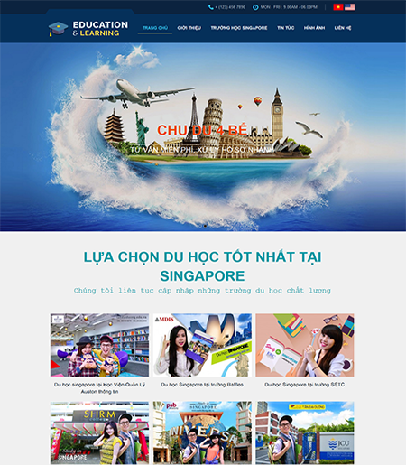 Website - Du học